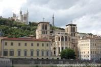 Vue sur Basilique de Fourvière