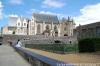 Petite vue depuis l'intérieur du château d'Angers