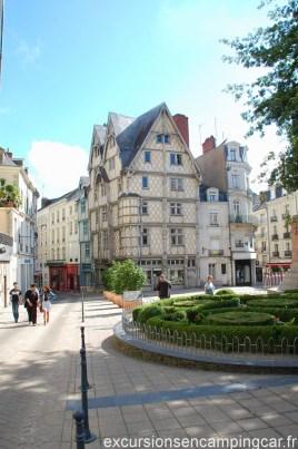 Visite du vieux centre d'Angers