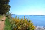 Vue sur la Rade de Morlaix depuis le chemin cotié de la Pointe de Barnénez