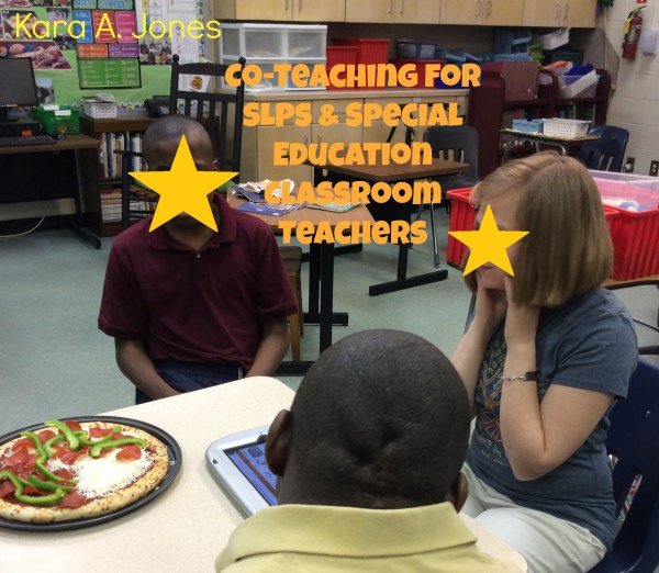 Co-Teaching for SLPs & Special Education Classroom ...
