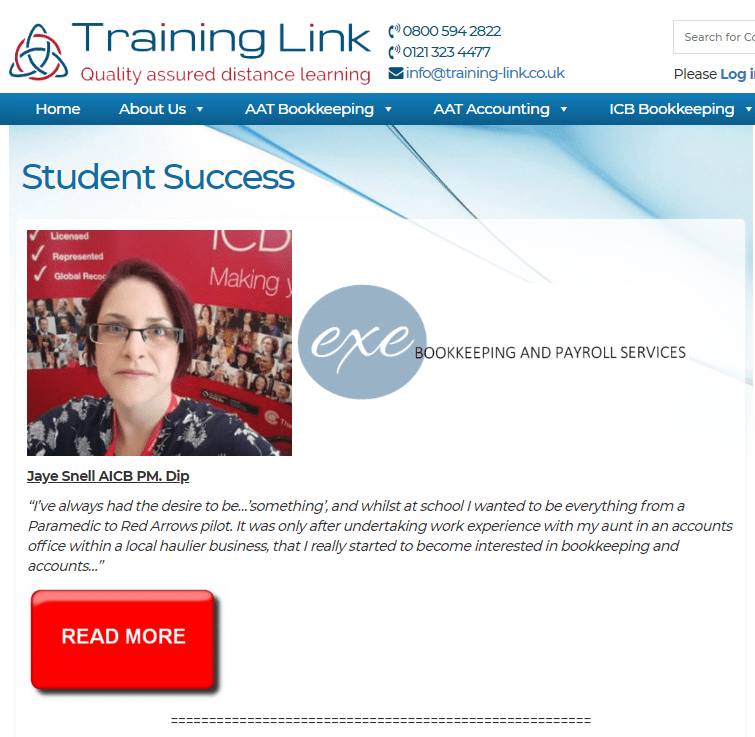 exe-bookkeeping-and-payroll-services-training-link-success-story