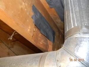 Duct tape repair