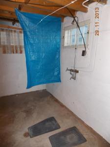 Home made shower
