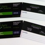 Liberty Systems Business Cards