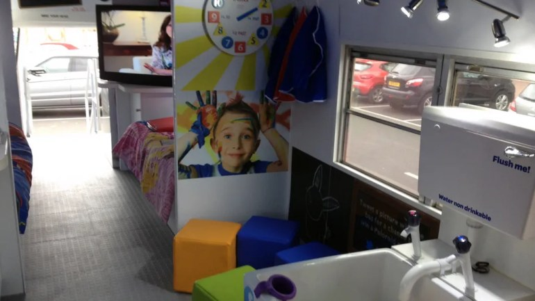 Huggies Experiential Vehicle Interactive Elements