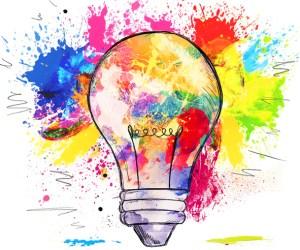 Get creative, bright ideas