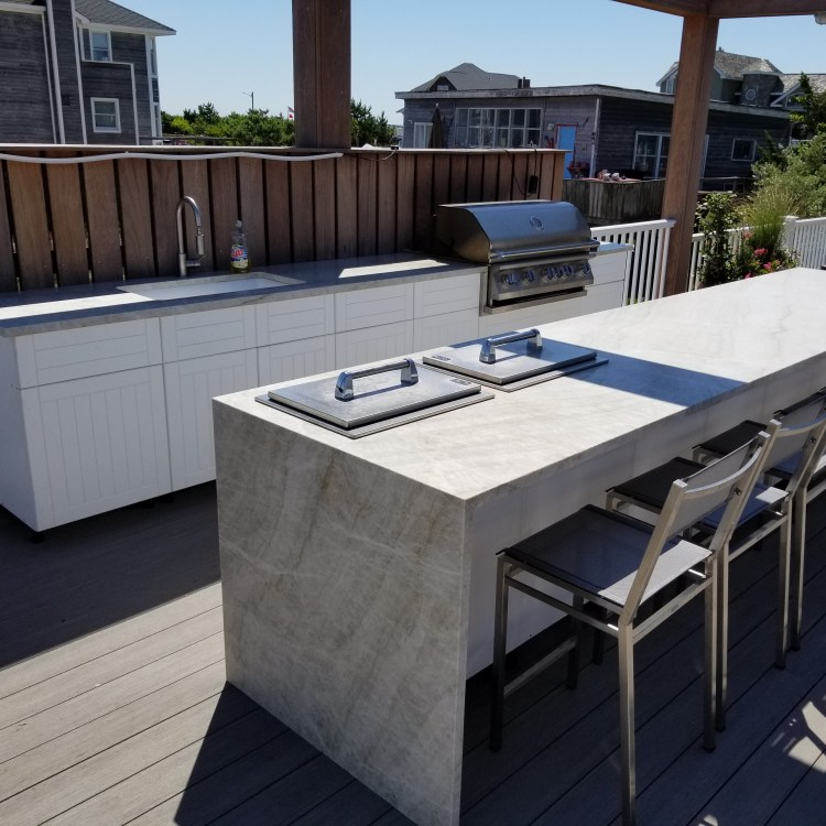 PVC Outdoor Kitchen Cabinets Long Island