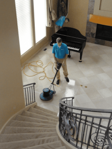 Marble Floor Cleaning [Image]