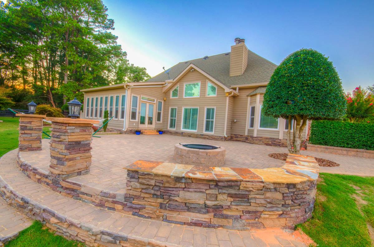 Hardscape Design - Executive Landscaping, Inc. on Backyard Hardscape Design id=54856