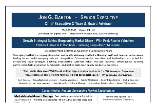 CEO_Board_Advisor_Resme_Excerpt