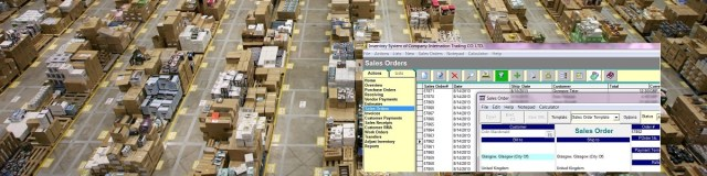 Order management system software