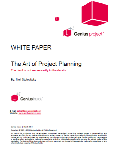 White Paper Project Planning