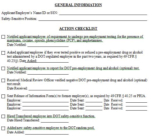 New Employee Orientation Checklist Template Word