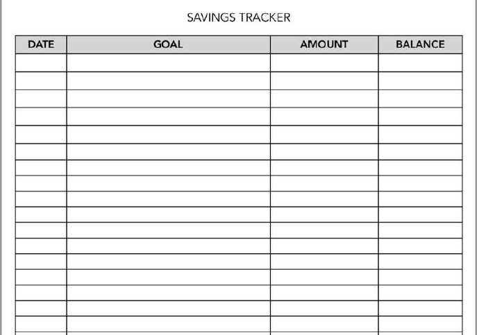 saving goal calculator excel