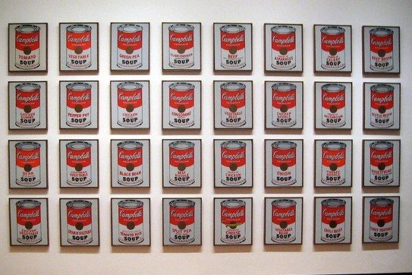 Andy Warhol's 32 Campbell Soup Cans