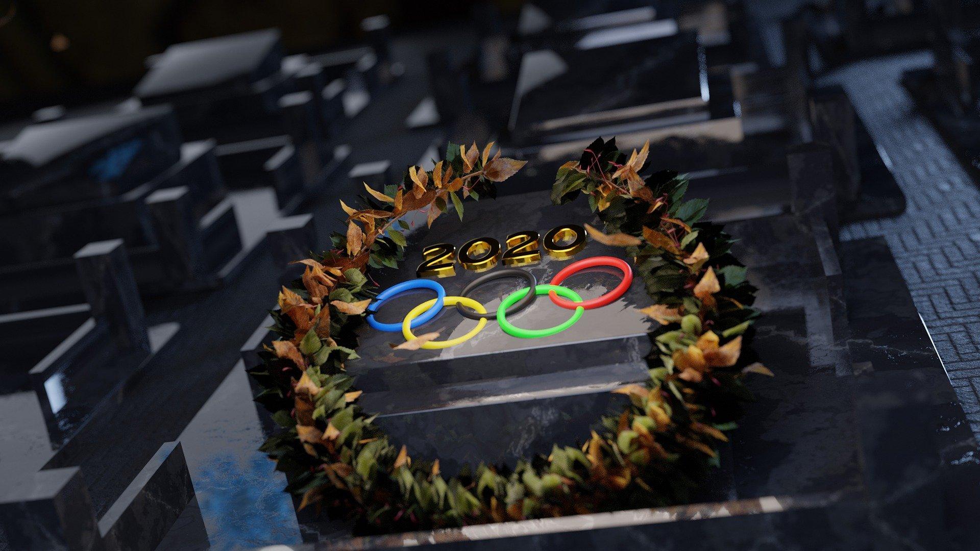 Tokyo Olympics 2020 sign