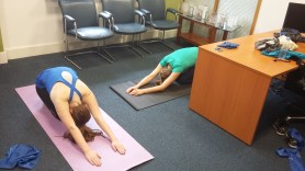 Lunch time Pilates at MCF