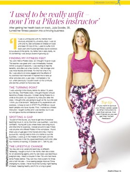 Health and Fitness Magazine - April 2015