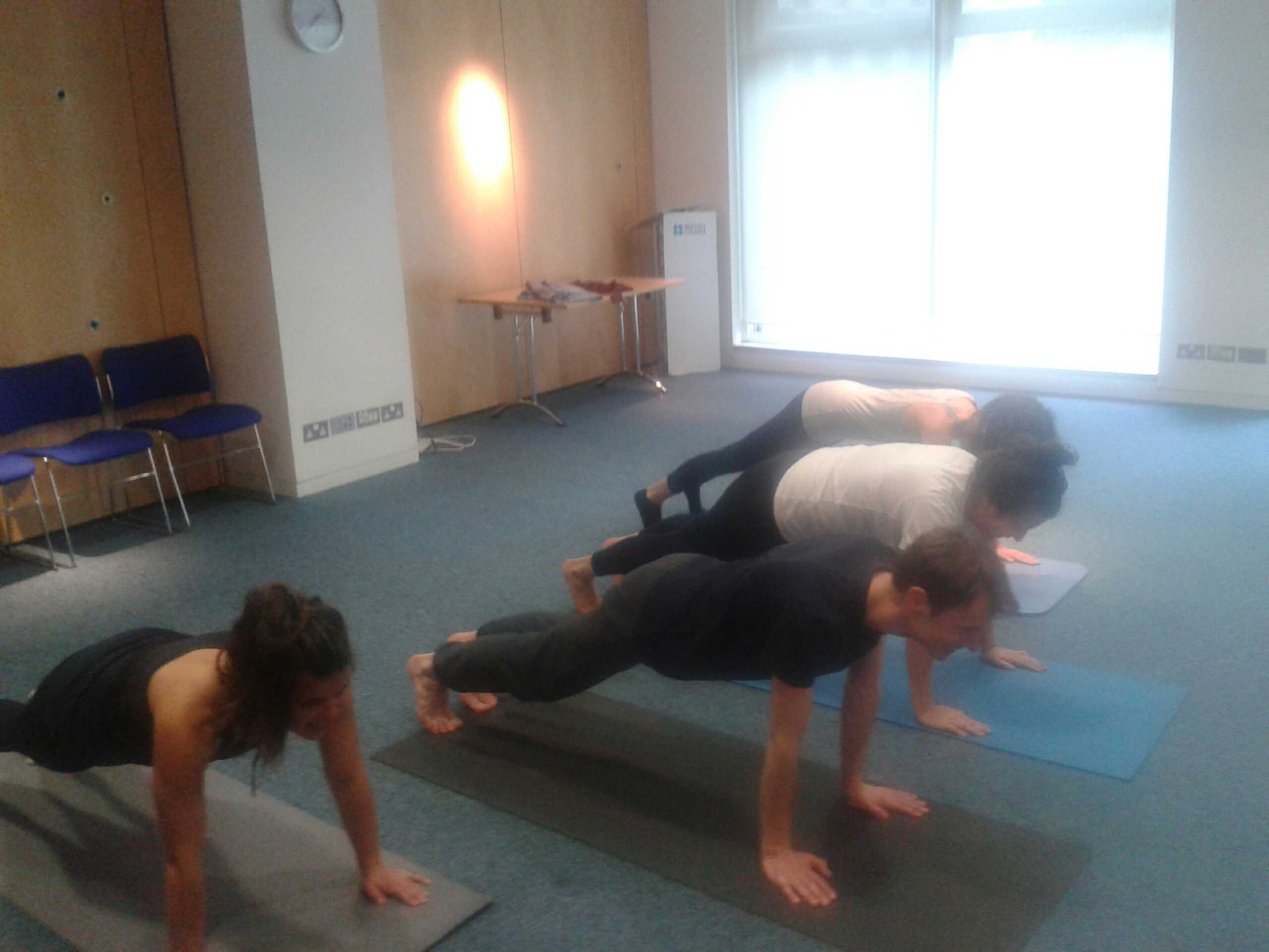 The British Council - Pilates for staff