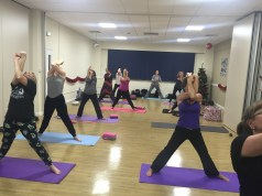 Chase Farm Hospital - Yoga class