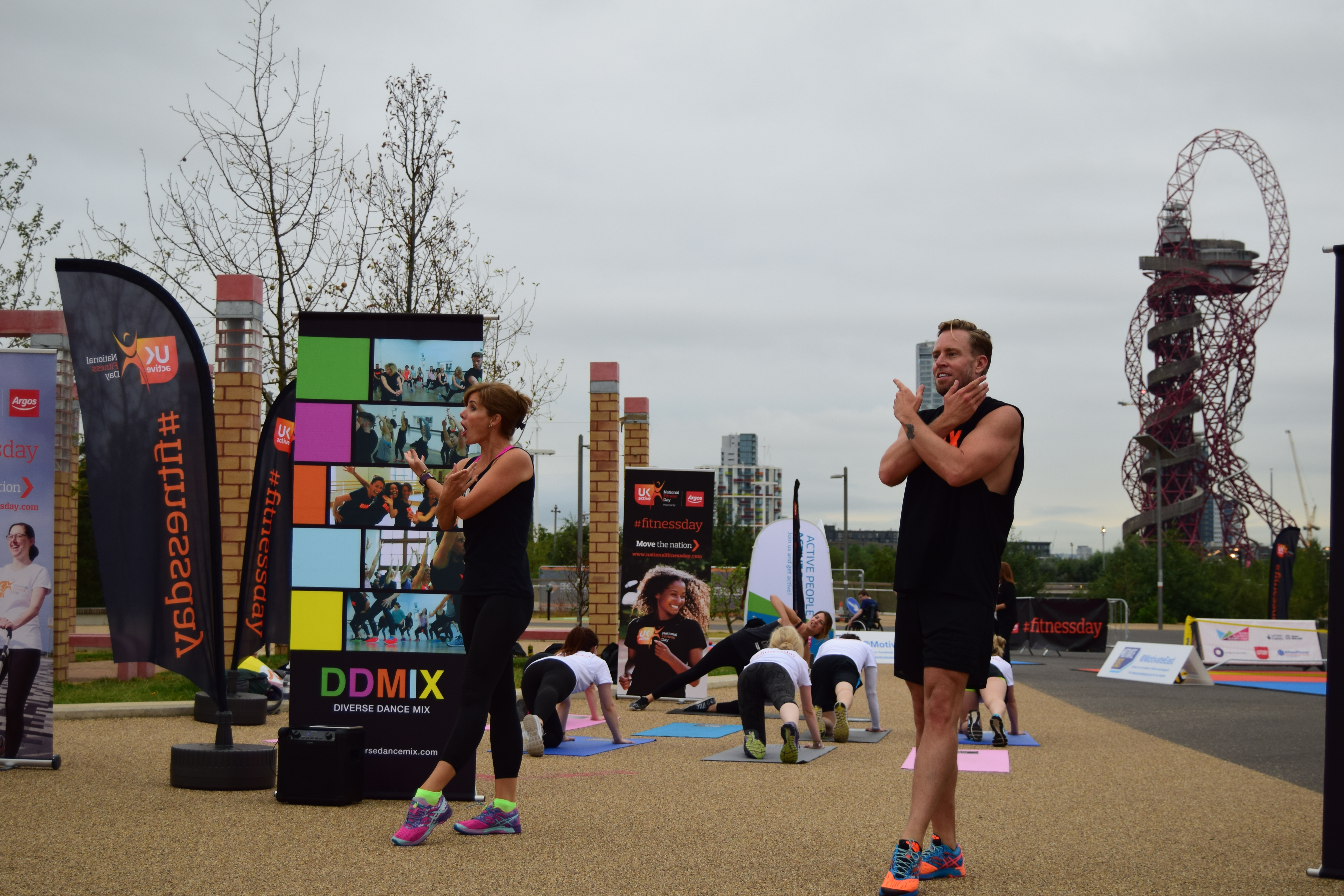 Darcey Bussell at National Fitness Day 2016