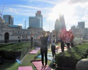 girlguiding-staff-enjoying-pilates-at-coq-dargent-with-exercsie-in-the-city