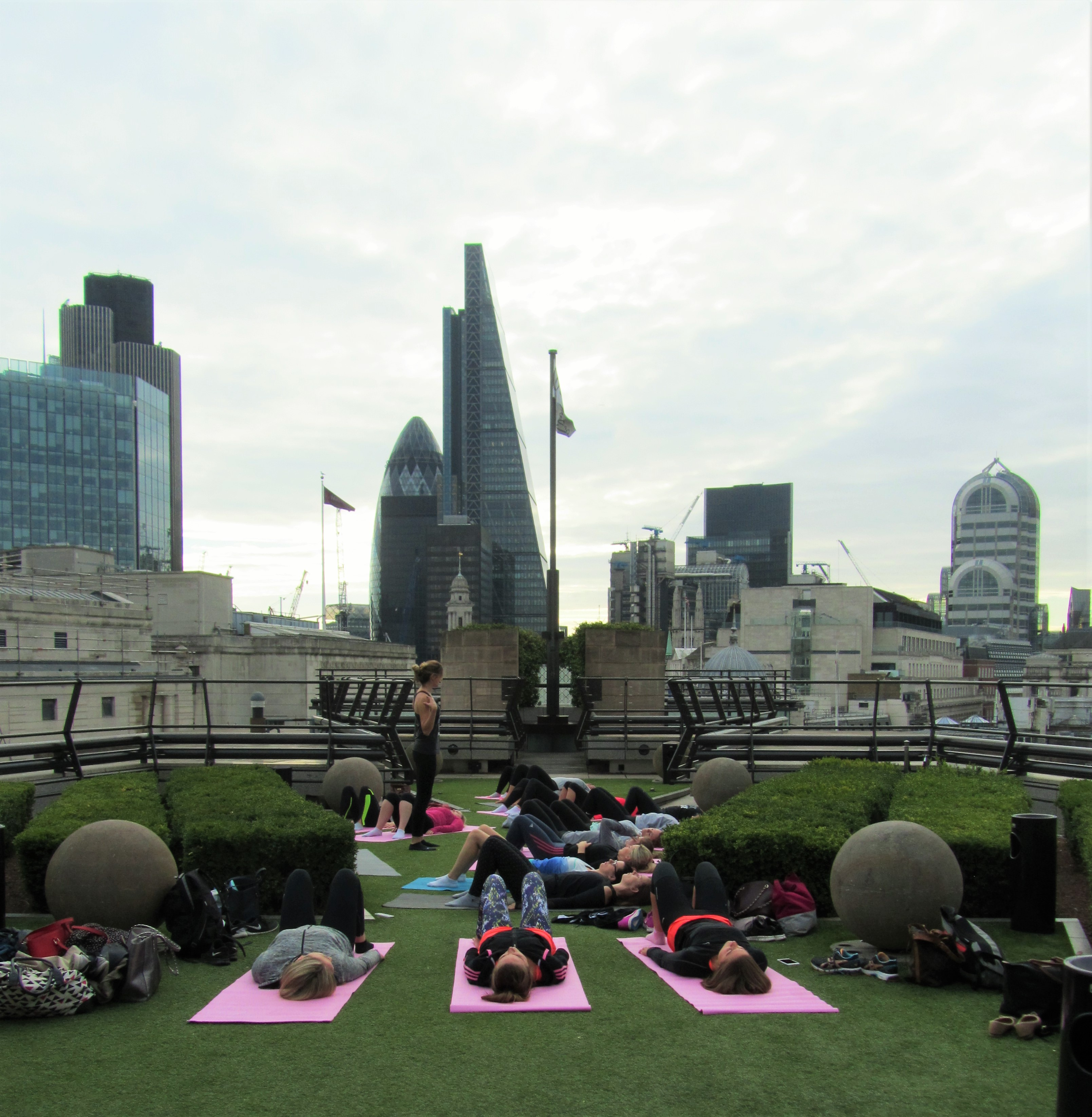 goodman-masson-staff-enjoying-pilates-with-exercise-in-the-city-at-coq-dargent