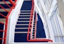 Next time you feel the need for a coffee to boost your energy... try heading to the office stairwell instead!