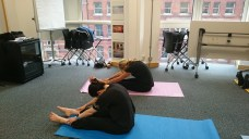TfL - Yoga class for staff