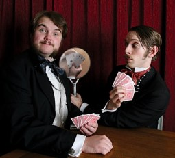 Inside Magic Image of Morgan & West Magicians