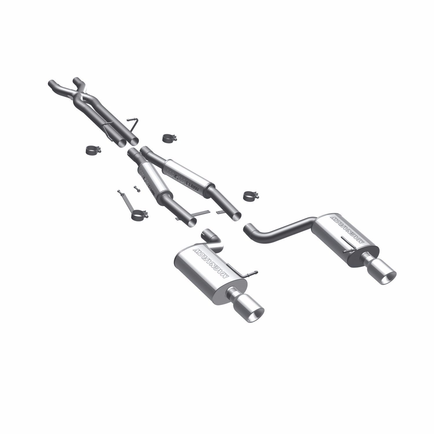 Magnaflow Touring Series Cat Back Exhaust