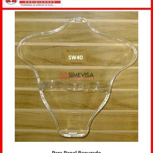 SW40 Exhibidor de acrilico para blusa