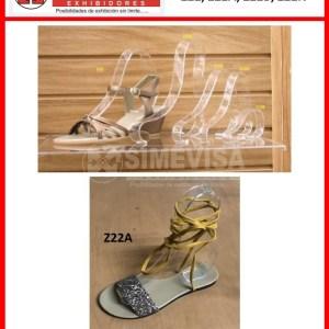 Pulsera acrilico sandalia