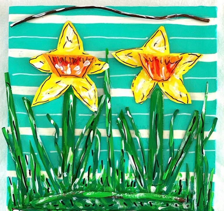 Tin Can Daffodils