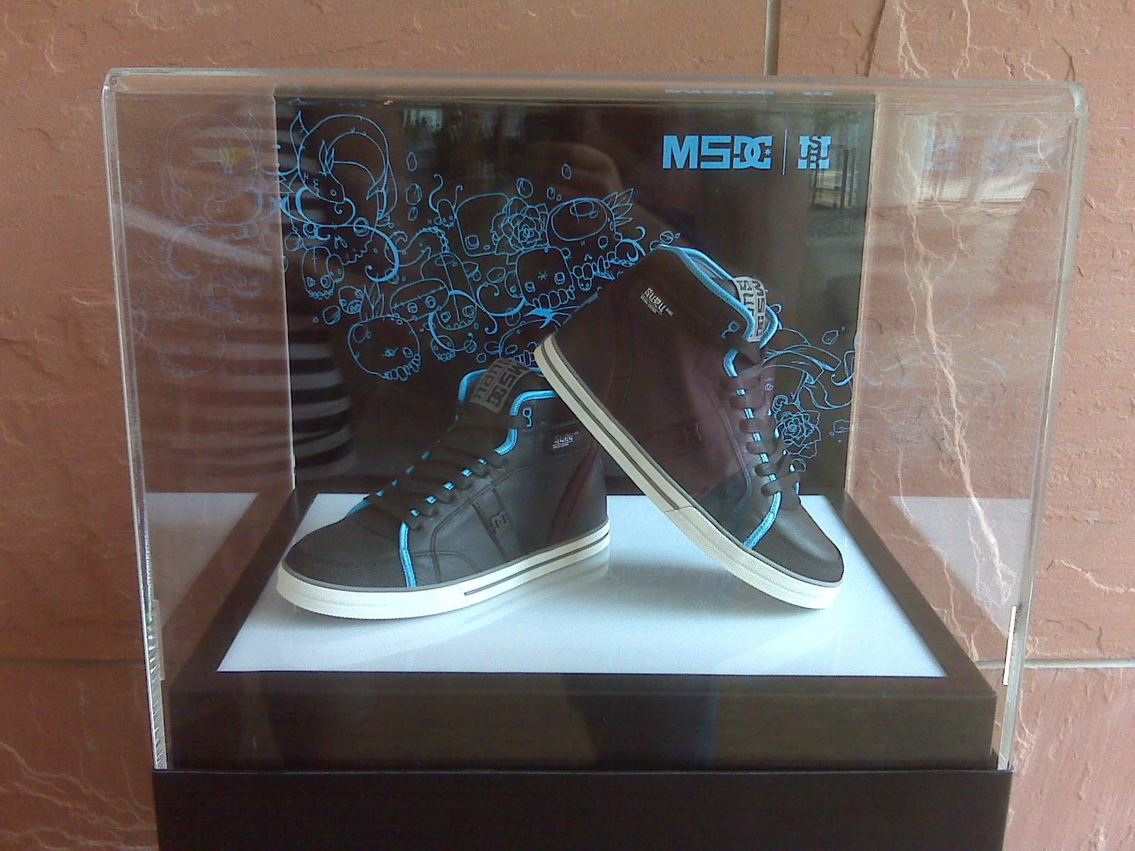 Shinoda's custom kicks