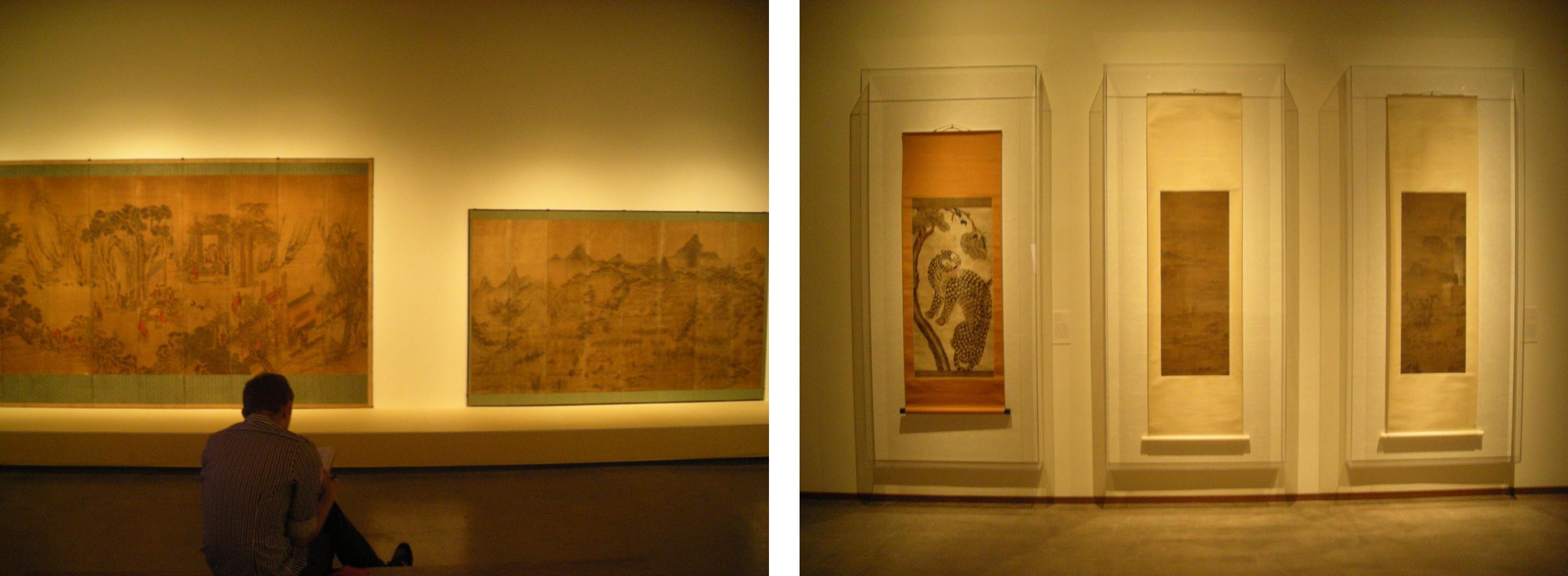 Painting gallery – screens & scrolls