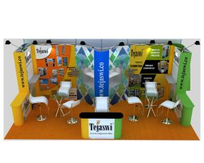 6x3 Portable Exhibition Stand