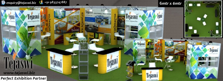 6x6 Portable Exhibition Stall