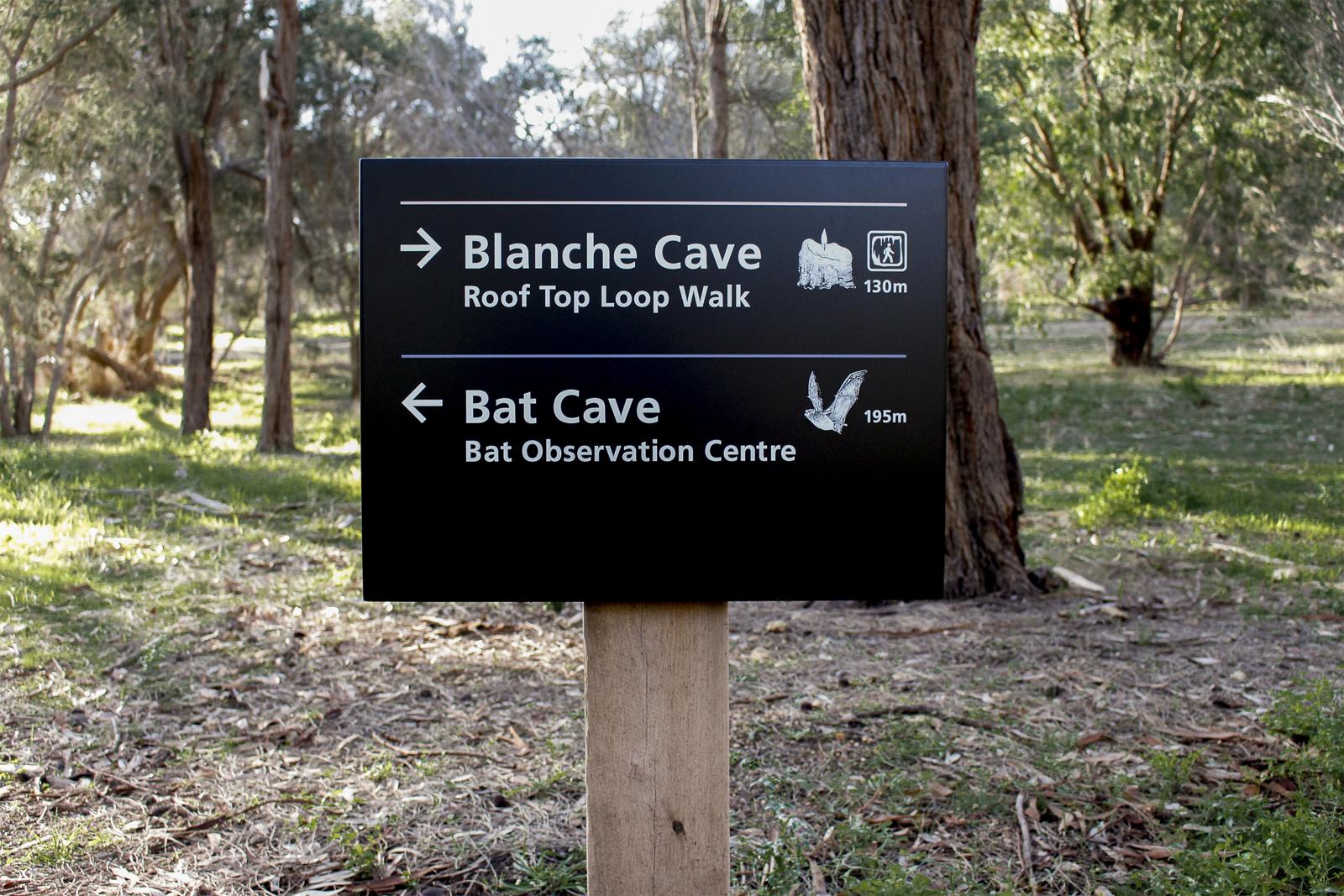 Naracoorte Caves National Park Signage Image 8