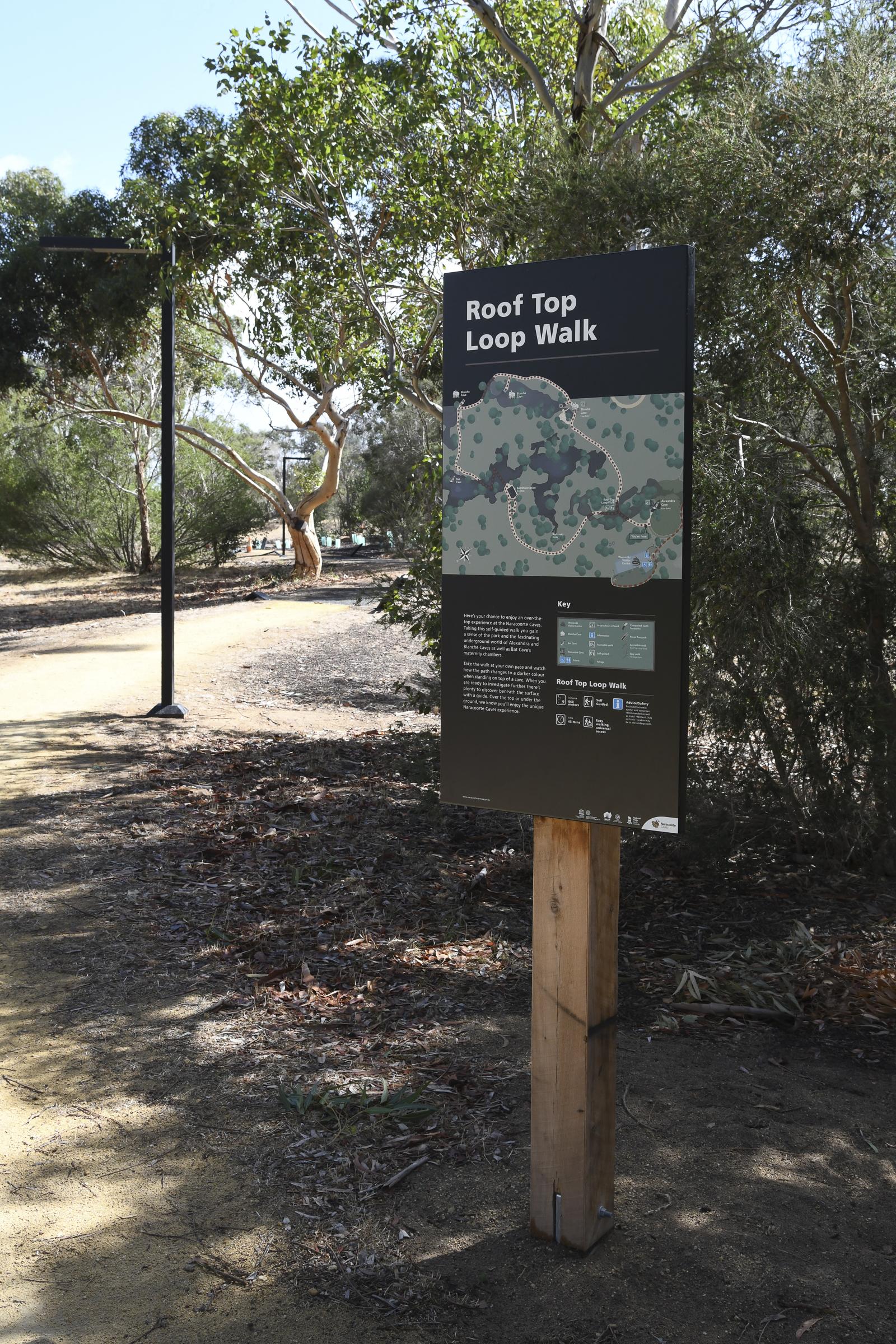 Naracoorte Caves National Park Signage Image 4