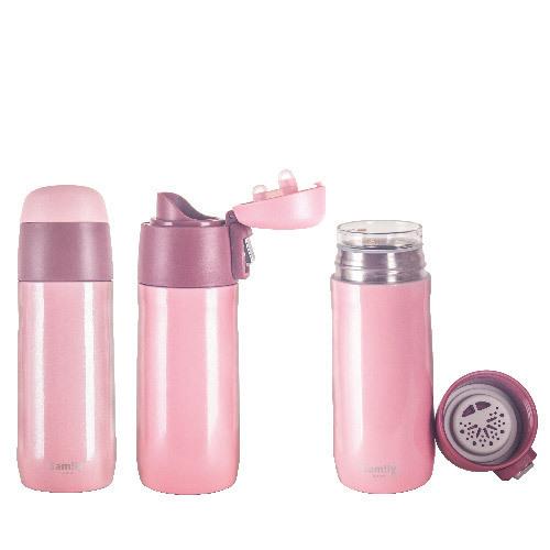 8oz vacuum insulated glass bottle ii