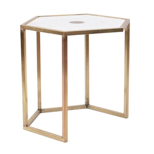 iron leg marble table