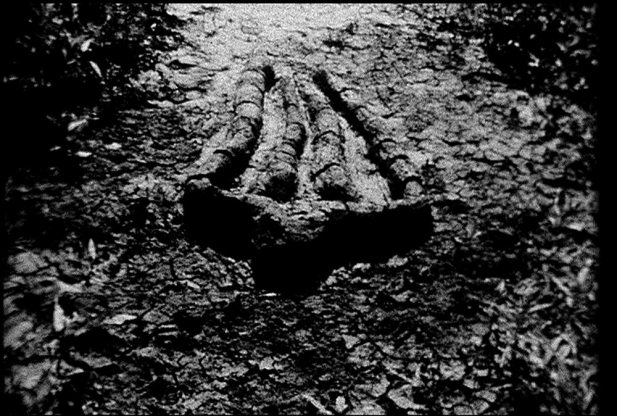 Untitled (Gunpowder Silueta Series) (stills), 1981 Courtesy of Private Collection Mendieta Collection, L.L.C. and Galerie Lelong, New York
