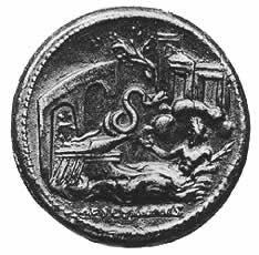 Reverse of a bronze medallion of Antoninus Pius