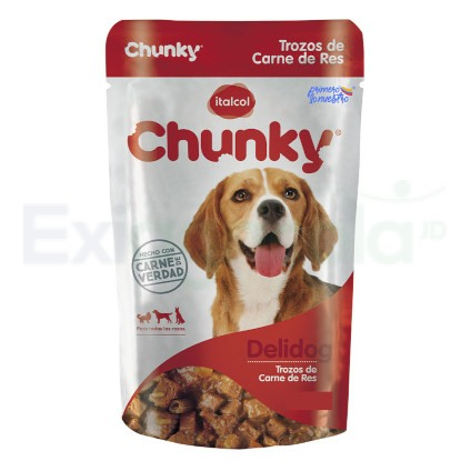 CHUNKY DELIDOG POUCH CARNE