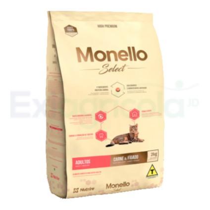 MONELLO CAT ADULTO CARNE- HIGADO