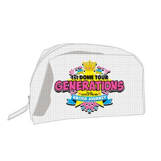GENERATIONS UNITED JOURNEY ライブグッズ ポーチ