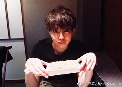 片寄涼太 weibo