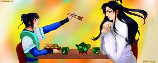 Ling and Momo